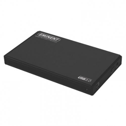 """Eminent EM7033 behuizing voor opslagstations Zwart 2.5"""" Stroomvoorziening via USB"""