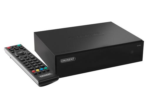 Eminent hdMEDIA EM7280 1TB digitale mediaspeler Zwart Full HD 1000 GB