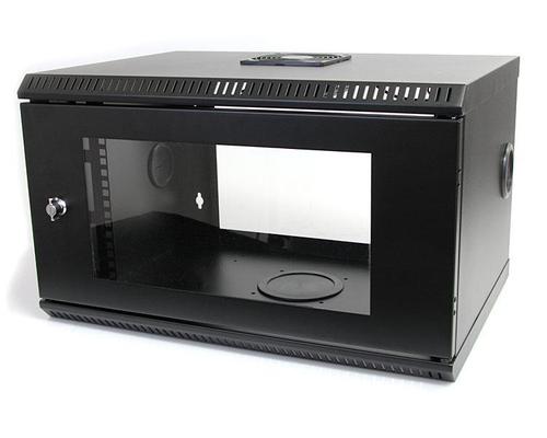 StarTech.com 6U 19 inch Serverrack Serverkast Wandmontage met Acryl Deur