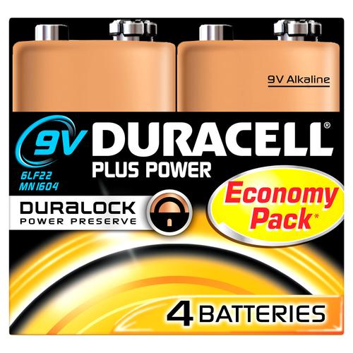 Duracell Plus Power Single-use battery 9V Alkaline