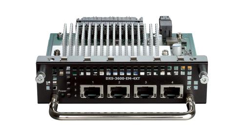 D-Link DXS-3600-EM-4XT 10 Gigabit network switch module