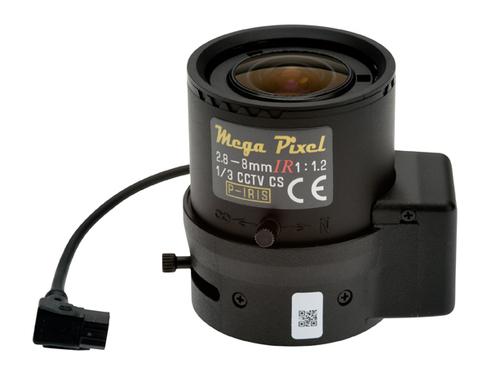 Axis Mega Pixel Camcorder Standaardlens Zwart, Transparant