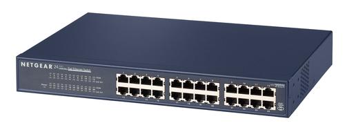 Netgear JFS524 Unmanaged Fast Ethernet (10/100) Blue