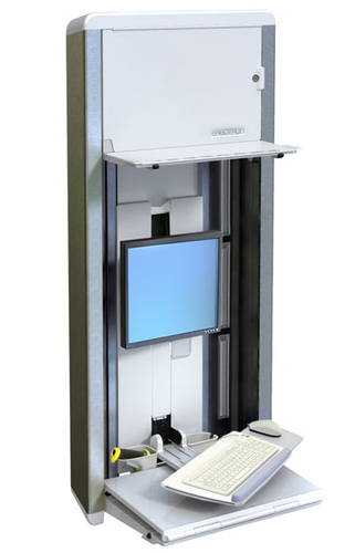 "Ergotron StyleView® VL Enclosure 55,9 cm (22"") Zilver"