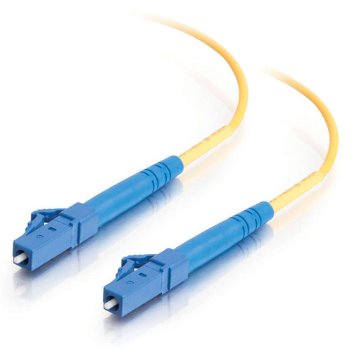 C2G 85607 5m LC LC Yellow fiber optic cable