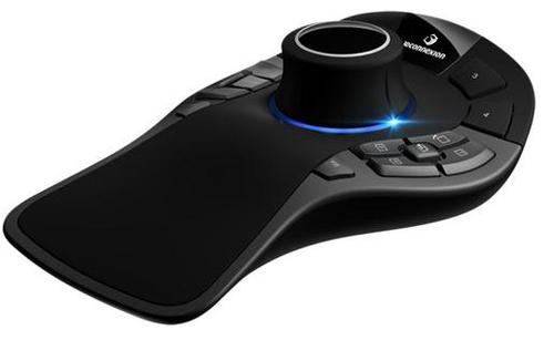 3Dconnexion SpaceMouse Pro USB Zwart, Grijs