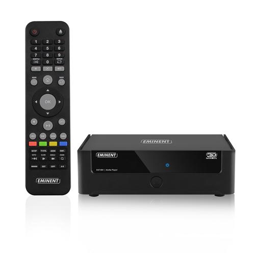 Eminent EM7480 digitale mediaspeler Zwart Full HD 7.1 kanalen 1920 x 1080 Pixels