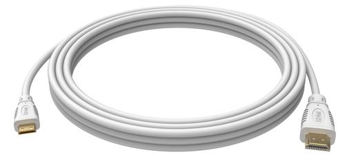 Vision TC 3MHDMIM HDMI kabel 3 m HDMI Type C (Mini) HDMI Type A (Standaard) Wit
