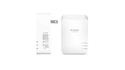 D-Link PowerLine AV2 1000Mbit/s Ethernet LAN Wit 2stuk(s) PowerLine-netwerkadapter