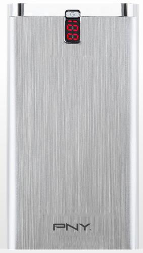 PNY Digital 10000 powerbank Lithium-Polymeer (LiPo) 10000 mAh Zilver