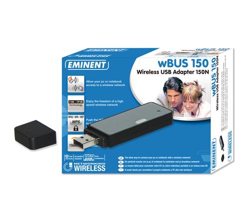 Eminent Wireless USB Adapter 150N 54 Mbit/s