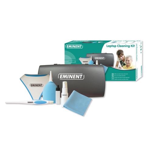 Eminent Laptop Cleaning Kit Beeldschermen/Plastik Droge en vochtige doekjes voor apparatuurreiniging