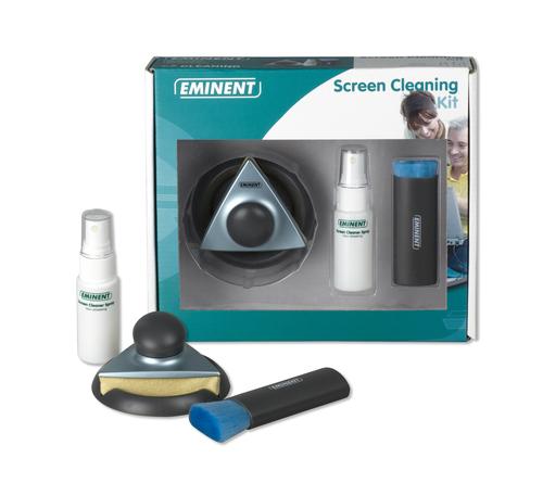 Eminent Screen Cleaning Kit LCD/TFT/Plasma Droge en vochtige doekjes voor apparatuurreiniging
