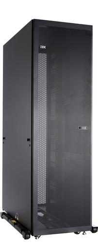IBM 42U 1200mm Deep Dynamic Rack Freestanding rack 953kg Zwart rack