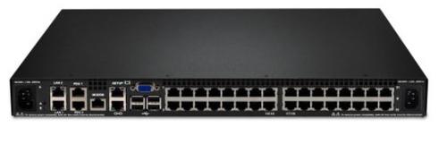 Lenovo 1754D2X 1U Black KVM switch