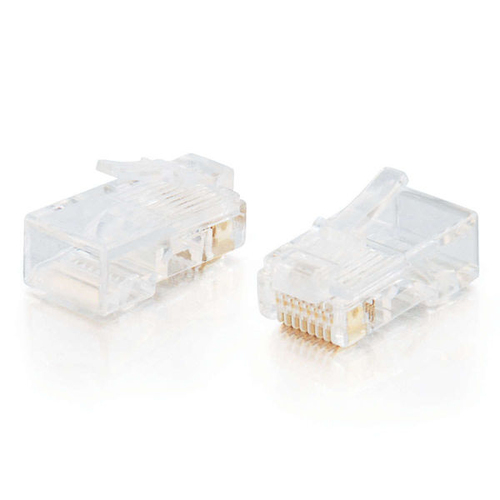C2G 88121 RJ-45 Wit kabel-connector