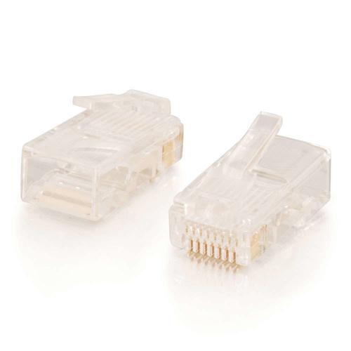 C2G 88123 RJ-45 Wit kabel-connector