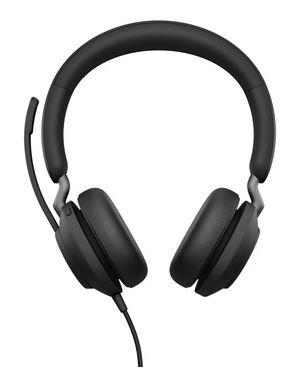 Jabra Evolve2 40 UC Stereo - Headset - on-ear - wired - USB-C - noise isolating