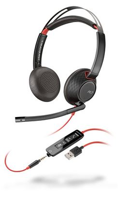 POLY Blackwire C5220. Product type: Headset, Wearing style: Head-band, Recommended usage: Office/Call center. Connectivity technology: Wired, USB connector: USB Type-A.