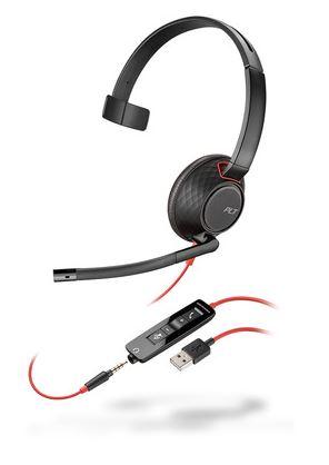 BLACKWIRE 5210 C5210 USB-A WW MONAURAL BLACK