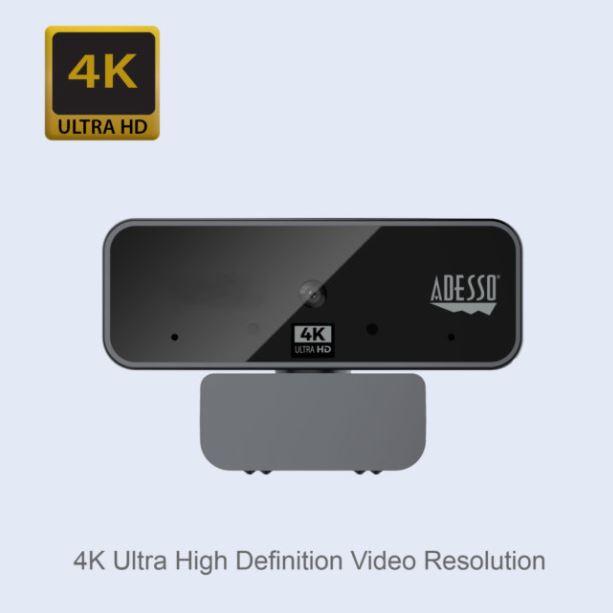 Adesso CyberTrack H6 webcam 8 MP 3880 x 2160 Pixels