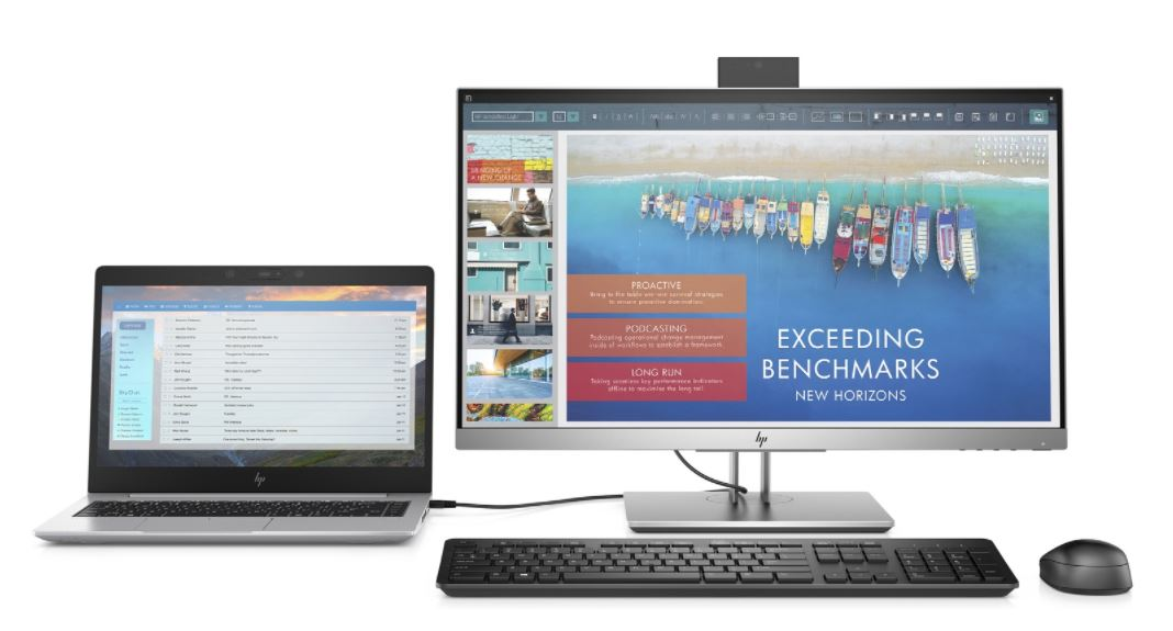 HP EliteDisplay E243d - Geavanceerde Docking & Display in één